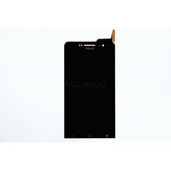 Дисплей Asus A600CG (ZenFone 6) в сборе с тачскрином Черный