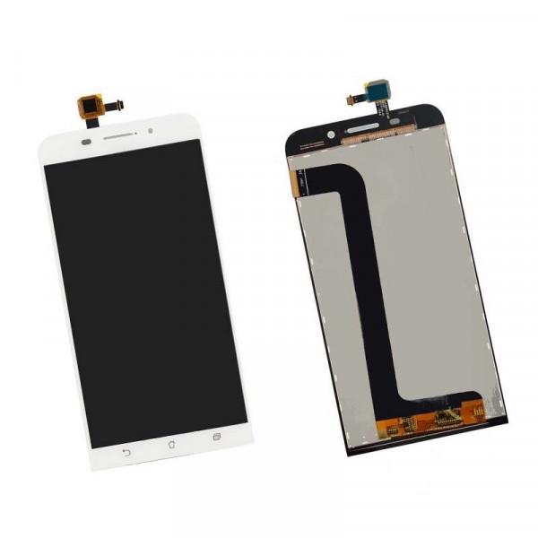 Дисплей Asus ZC550KL (ZenFone Max) в сборе с тачскрином Белый