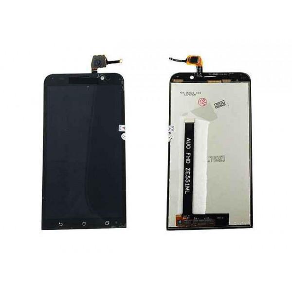 Дисплей Asus ZE551ML (ZenFone 2) в сборе с тачскрином Черный