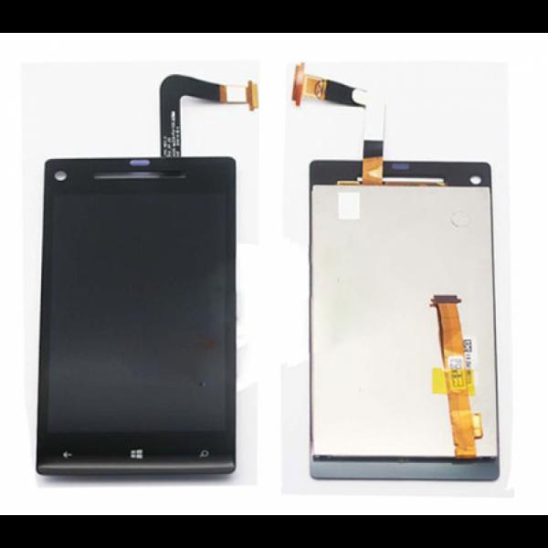 Дисплей HTC 8X в сборе с тачскрином Черный