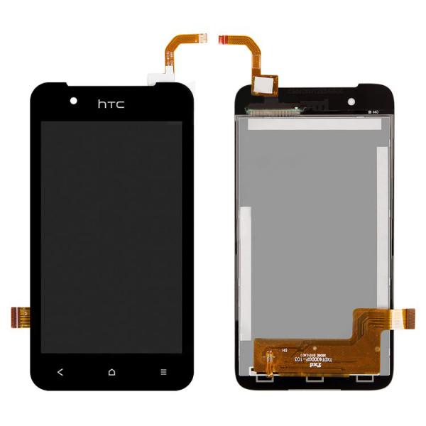 Дисплей HTC Desire 210 Dual в сборе с тачскрином Черный
