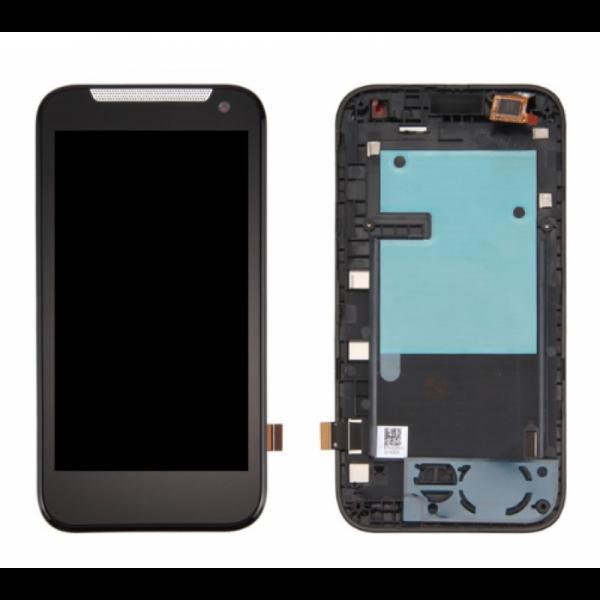 Дисплей HTC Desire 310/Desire 310 Dual в сборе с тачскрином Черный в рамке