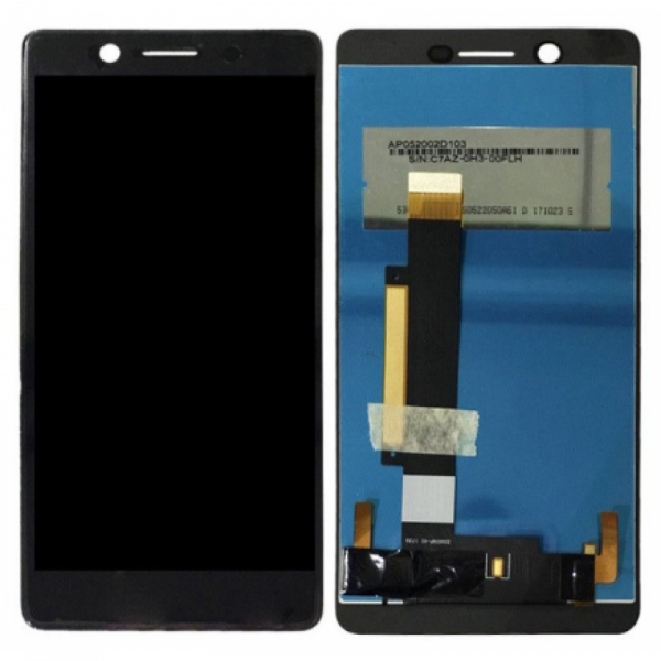 Дисплей Nokia 7 в сборе с тачскрином Черный