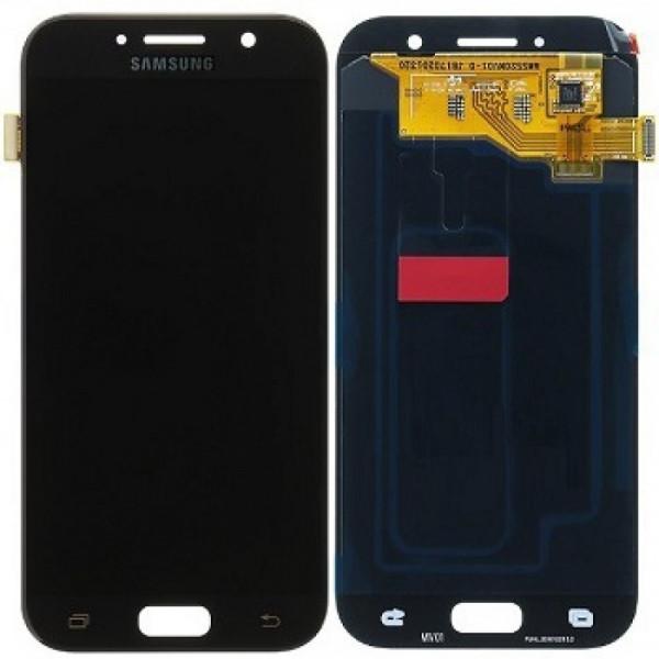 Дисплей Samsung A520F (A5 2017) в сборе с тачскрином Черный - (TFT с рег)
