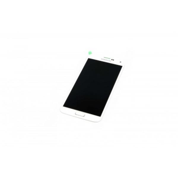 Дисплей Samsung G900 (S5) в сборе с тачскрином Белый - (TFT с рег)