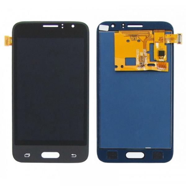 Дисплей Samsung J120F (J1 2016) в сборе с тачскрином Черный - Оригинал