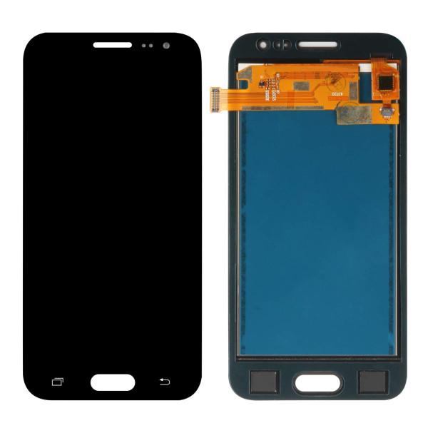 Дисплей Samsung J200H  в сборе с тачскрином Черный (TFT c регулировкой подсветкой)