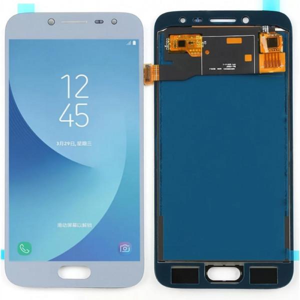 Дисплей Samsung J250F (J2 2018) в сборе с тачскрином Голубой - (TFT) с рег.под
