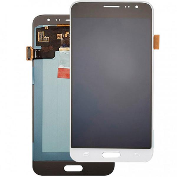 Дисплей Samsung J320F (J3 2016) в сборе с тачскрином Белый - (TFT) с рег.под.