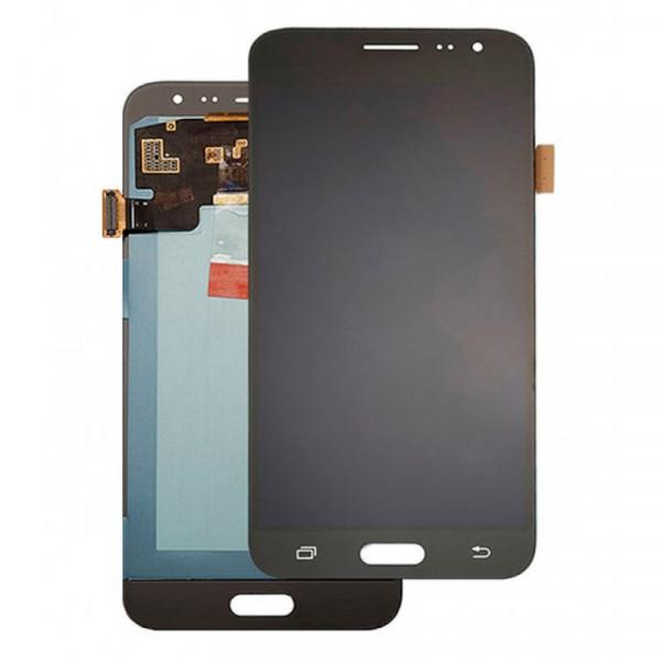Дисплей Samsung J320F (J3 2016) в сборе с тачскрином Черный - Оригинал
