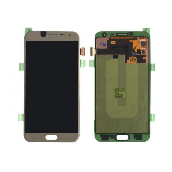 Дисплей Samsung J400F (J4 2018) в сборе с тачскрином Золото - (OLED)