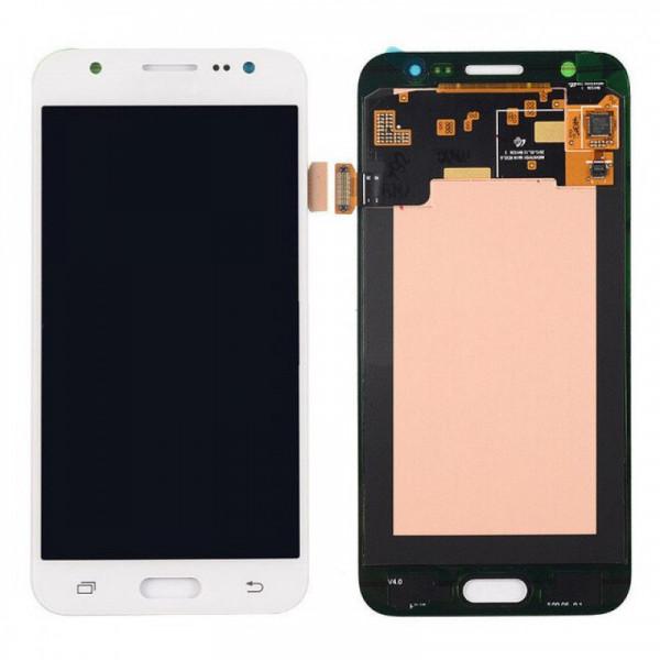Дисплей Samsung J500F (J5) в сборе с тачскрином Белый - (TFT с рег)