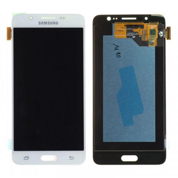 Дисплей Samsung J510F (J5 2016) в сборе с тачскрином Белый - (OLED)