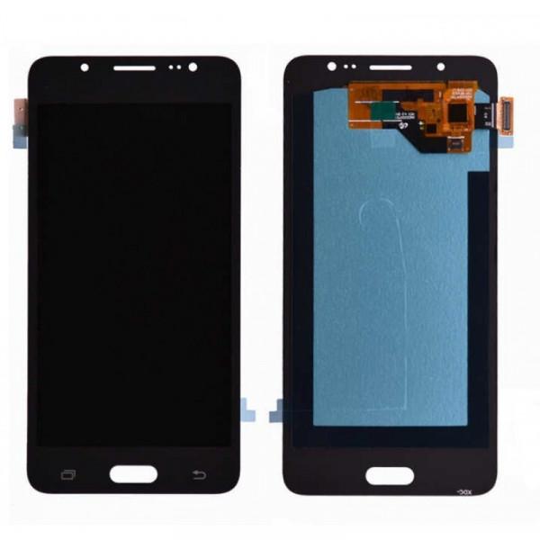Дисплей Samsung J510F (J5 2016) в сборе с тачскрином Черный - (TFT) с рег.под.
