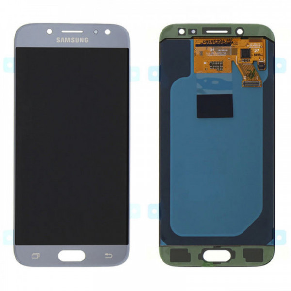 Дисплей Samsung J530F (J5 2017) в сборе с тачскрином Голубой - (OLED)