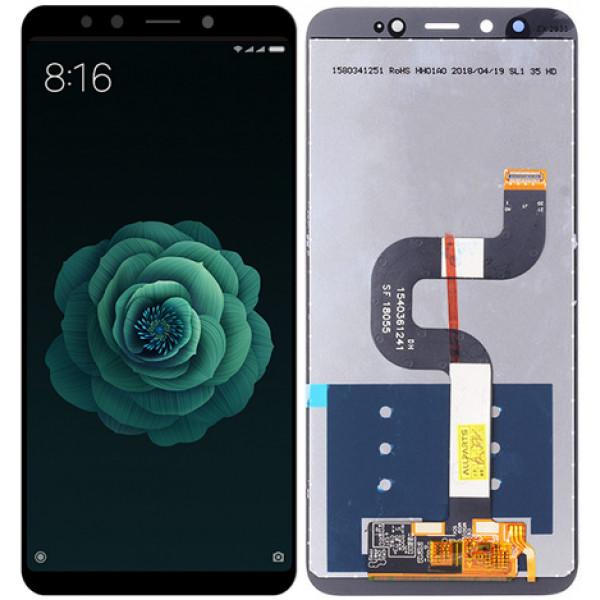 Дисплей Xiaomi Mi 6X/Mi A2 в сборе с тачскрином Черный