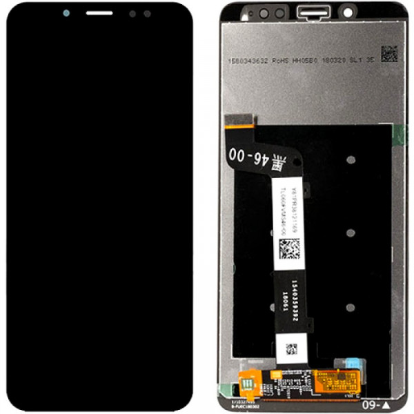 Дисплей Xiaomi Redmi Note 5/Note 5 Pro в сборе с тачскрином Черный - Оригинал